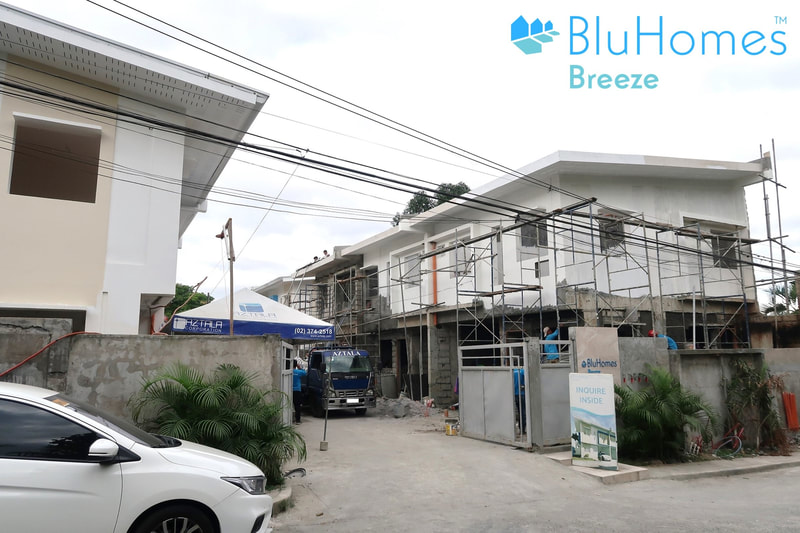 BluHomes Breeze townhouse in amparo caloocan